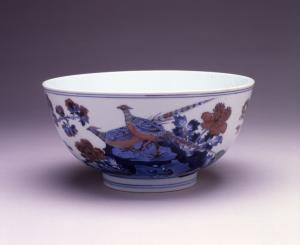 Bowl with Pheasants